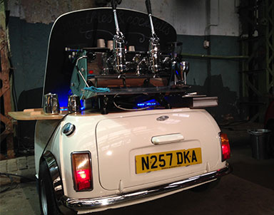 professionele espressomachine huren